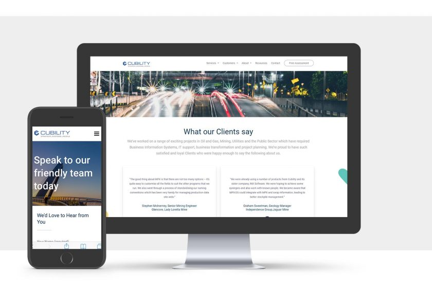 Cubility - Website by Bray Marketing